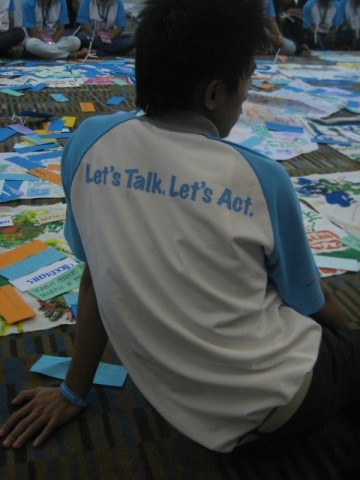 Let's Talk.  Let's Act!